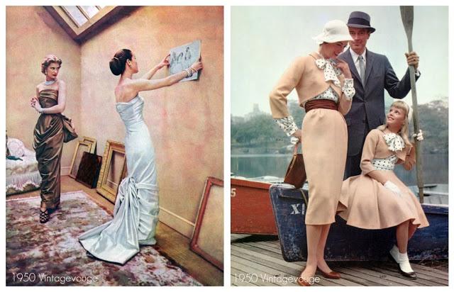 klær fra 50 tallet