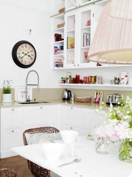stilrent interiør kjøkken