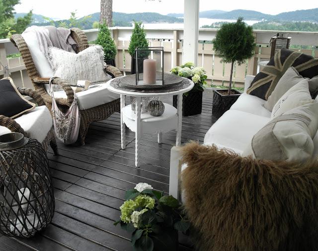 Lengter etter terrassehygge - Anette Willemine