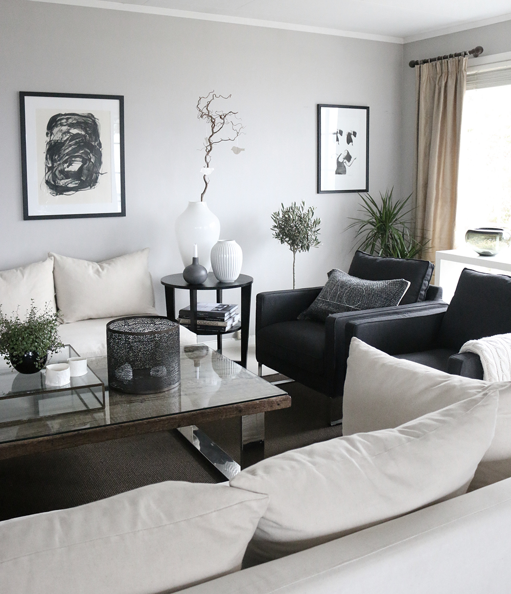 Livingroom-black-white-grey-Anette-Willemine-Solheim-1