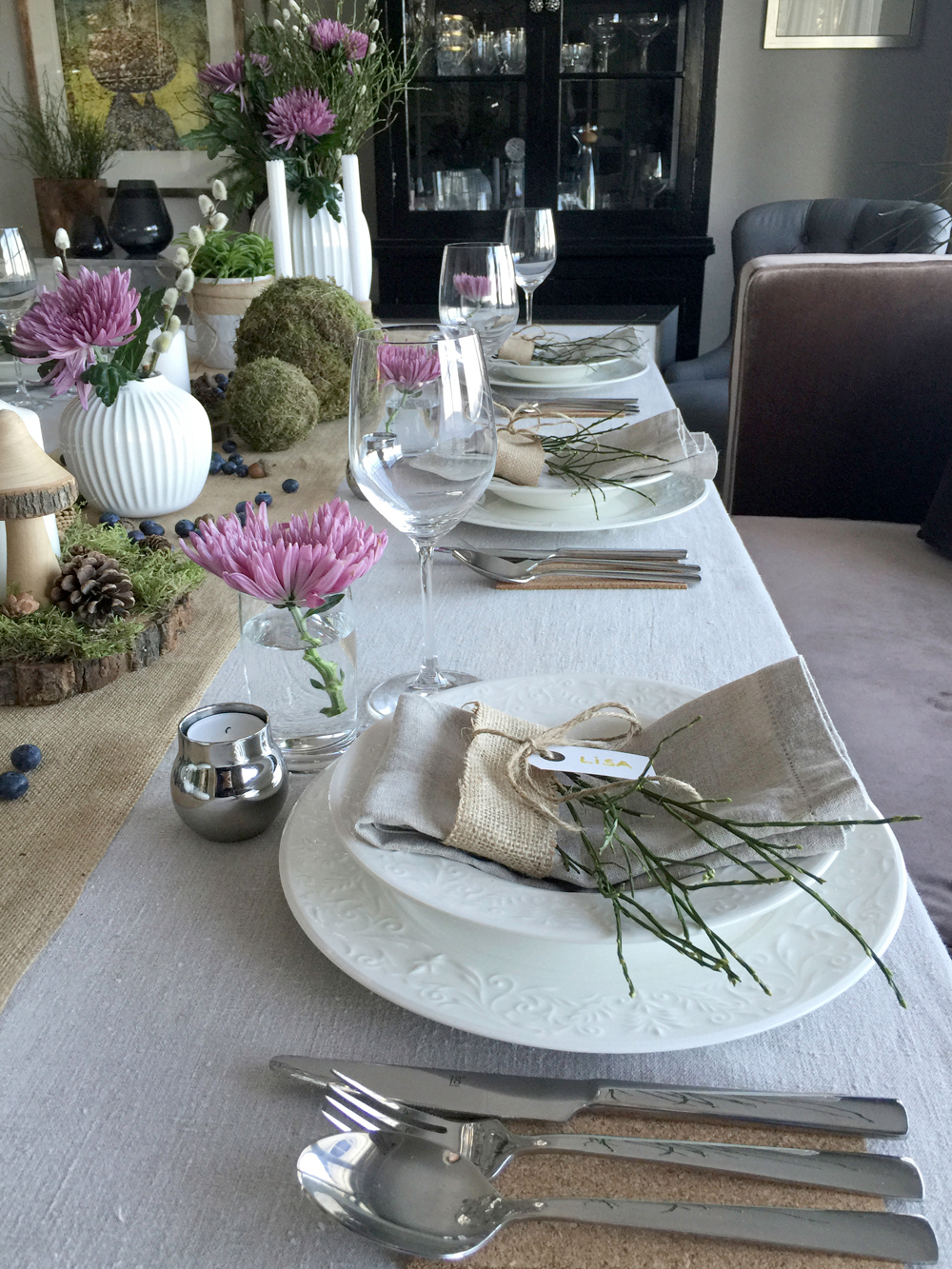 Konfirmasjon-natur- borddekking tablesetting3